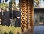 وزيرا الآثار والأوقاف يتفقدان مقتنيات قصر الأمير محمد على بالمنيل