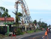 بالصور.. مصرع 6 أشخاص على الأقل وفقد 18 آخرين فى إعصار الفلبين