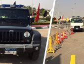 انتشار سيارات الإغاثة على الطرق السريعة تحسبًا لسقوط أمطار