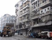 الأمم المتحدة تسلم 1500 أسرة نازحة فى ريف حلب مساعدات إنسانية