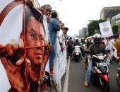 بالصور...مظاهرات تجتاح إندونيسيا ضد حاكم جاكرتا