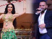 """بالصور.. محمد الريفى يشعل الكريسماس بصحبة الراقصة الروسية """"يانا"""""""