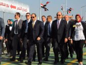 """""""نبع الخير"""".. فيلم تسجيلى يرصد حجم مشروعات بورسعيد التى افتتحها الرئيس"""