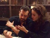 """""""عمرو يوسف"""" هاشتاج يتصدر تويتر بعد شائعة القبض عليه هو وزوجته"""