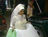 بالفيديو.. تعرف على حقيقة عروس الإسكندرية التى زفت نفسها بدون عريس