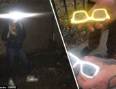 أمريكى يبتكر نظارات تمحو وجوه المجرمين من كاميرات المراقبة