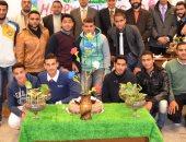 رئيس جامعة دمنهور يفتتح مسابقة التنسيق الداخلي بكلية الزراعة