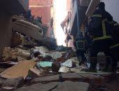 انهيار منزل من 3 طوابق فى نجع حمادى بقنا دون وقوع إصابات