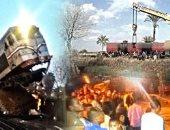 تقارير إحصائية تكشف: 1657 حادث قطار فى 2017.. نتج عنها 61 مصابا و29 متوفى