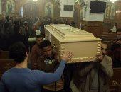 """بالصور.. كاهن كنيسة العذراء خلال قداس """"يارا هانى"""": الله اختارها شهيدة"""