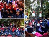 قصر الأمير محمد على بالمنيل يحتفل برأس السنة بمشاركة تلاميذ المدارس