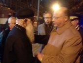 مدير أمن القاهرة يستكمل جولاته لتفقد خدمات تأمين الكنائس والفنادق