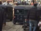 سائق وعاطل يخطفان حقيبة من ربة منزل ويعتديان على شقيقها ببولاق الدكرور