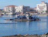استمرار غلق بوغاز عزبة البرج أمام حركة الصيد بسبب نوة الفيضة الكبرى