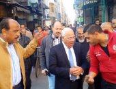 """بالفيديو والصور.. مواطن لمحافظ بورسعيد: """"عايزين رقابة على الأسعار"""""""