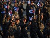 بالصور.. الجيش الكوبى يكرم فيدل كاسترو فى عيد الثورة