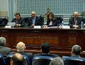 بالصور.. وزيرا السياحة والآثار يناقشان خطة تطوير هضبة الأهرامات بالبرلمان
