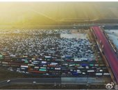 بالصور.. زحام تاريخى على بوابات بكين فى اليوم الأخير لعطلة السنة الجديدة