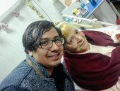 """بالصور.. """"اليوم السابع"""" يحتفل مع نادية لطفى بعيد ميلادها فى المستشفى"""