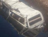 إصابة 8 أشخاص فى حادث انقلاب ميكروباص بترعة فى دمياط