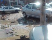 """رئيس """"القاهرة الجديدة"""" يوضح حقيقة فيديو انكسار خط مياه بالمدينة"""