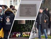 """بالصور..إحياء الذكرى الثانية لضحايا الهجوم المسلح على """"شارلى إبدو"""""""