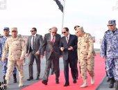 بالصور.. الرئيس السيسى يشهد بيانات عملية للقوات الخاصة البحرية والضفادع البشرية
