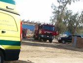 السيطرة على حريق اشتعل بمخزن مستشفى فى الجيزة