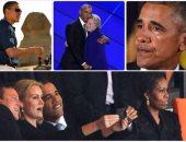 15 صورة تلخص مسيرة أوباما فى السلطة بينها أهرامات الجيزة