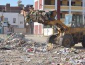 الوحدة المحلية لكفر العرب بدمياط: رفع 150 طن قمامة خلال أسبوع