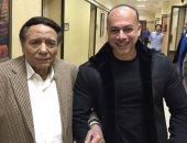 """ماذا قال الزعيم عن تامر مرسى فى آخر يوم تصوير """"عفاريت عدلى علام""""؟"""