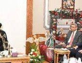 وزير العدل يهنئ البابا تواضروس بعيد الميلاد المجيد