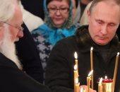 بالصور.. بوتين يهنى الأقباط بعيد الميلاد ويشيد بدور الكنيسة فى حفظ الوفاق الوطنى