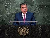 رئيس طاجيكستان يؤكد ضرورة التنسيق بين دول آسيا لمواجهة الإرهاب والجريمة