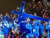 """بالصور.. ملايين الفلبينيين الكاثوليك يشاركون فى عيد """"الناصرى الأسود"""""""