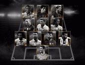 تعرف على التشكيل المثالى لأفضل 11 لاعبا فى العالم 2016