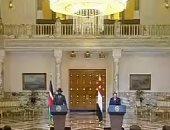 رئيس جنوب السودان يغادر القاهرة عقب زيارة التقى خلالها الرئيس السيسى