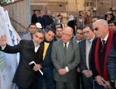 وزير الثقافة يضع حجر أساس مسرح مصر ويصفه بالصرح الفنى الكبير