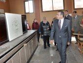 رئيس جامعة المنصورة : إنشاء فندق بكلية السياحة لتدريب الطلاب
