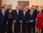 """السيسى لوفد """"الأمن القومى الأمريكى"""": ننفذ خطة تنمية متكاملة فى سيناء"""