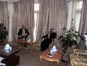 سفارة الإمارات تستقبل المعزين  فى شهداء الواجب بأفغانستان