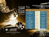 إعادة عرض الأفلام الفائزة بالمهرجان القومى للسينما المصرية بالهناجر
