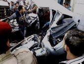 بدء التحقيق مع سائق مقطورة تسبب فى مصرع 12 وإصابة 15 آخرين بحادث الصف