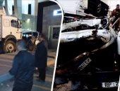 النيابة توجه تهمة القتل الخطأ والإهمال لسائق المقطورة المتسبب فى حادث الصف