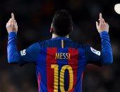 ميسى يضيف هدف برشلونة الثانى أمام إيبار بالدوري الإسباني