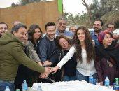 """بالصور.. حمادة هلال وصادق الصباح يحتفلان ببدء تصوير """"طاقة القدر """""""