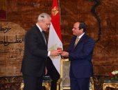 مركز دولى يمنح السيسي أعلى ميدالية تكريما لجهوده فى مكافحة الإرهاب