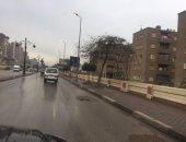 هطول أمطار على مدن كفر الشيخ فى الساعات الأولى من اليوم