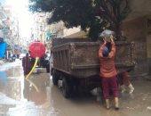 أمطار غزيرة ورعد وصقيع على محافظة دمياط.. والصيد يتأثر سلبا بالطقس السئ