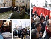تشييع جنازة الإعلامية نجوى أبو النجا من المسجد السيدة نفيسة